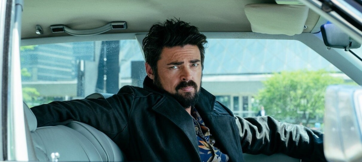 Billy Bruto (Karl Urban) em The Boys