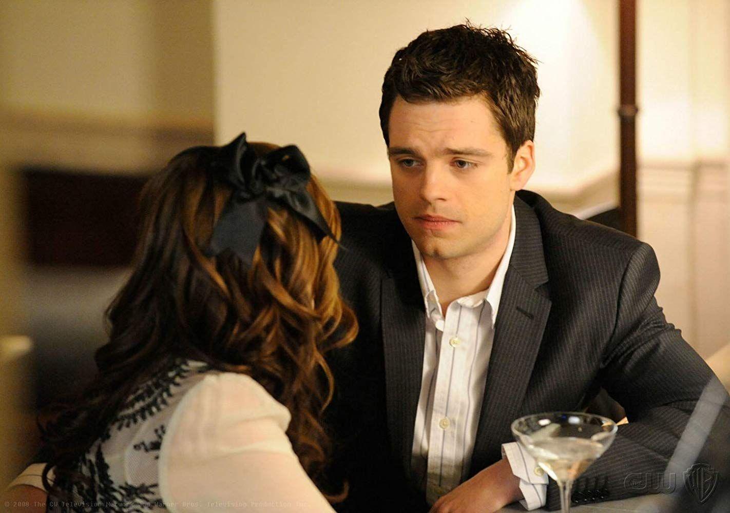 Blair (Leighton Meester) e Carter (Sebastian Stan) em Gossip Girl