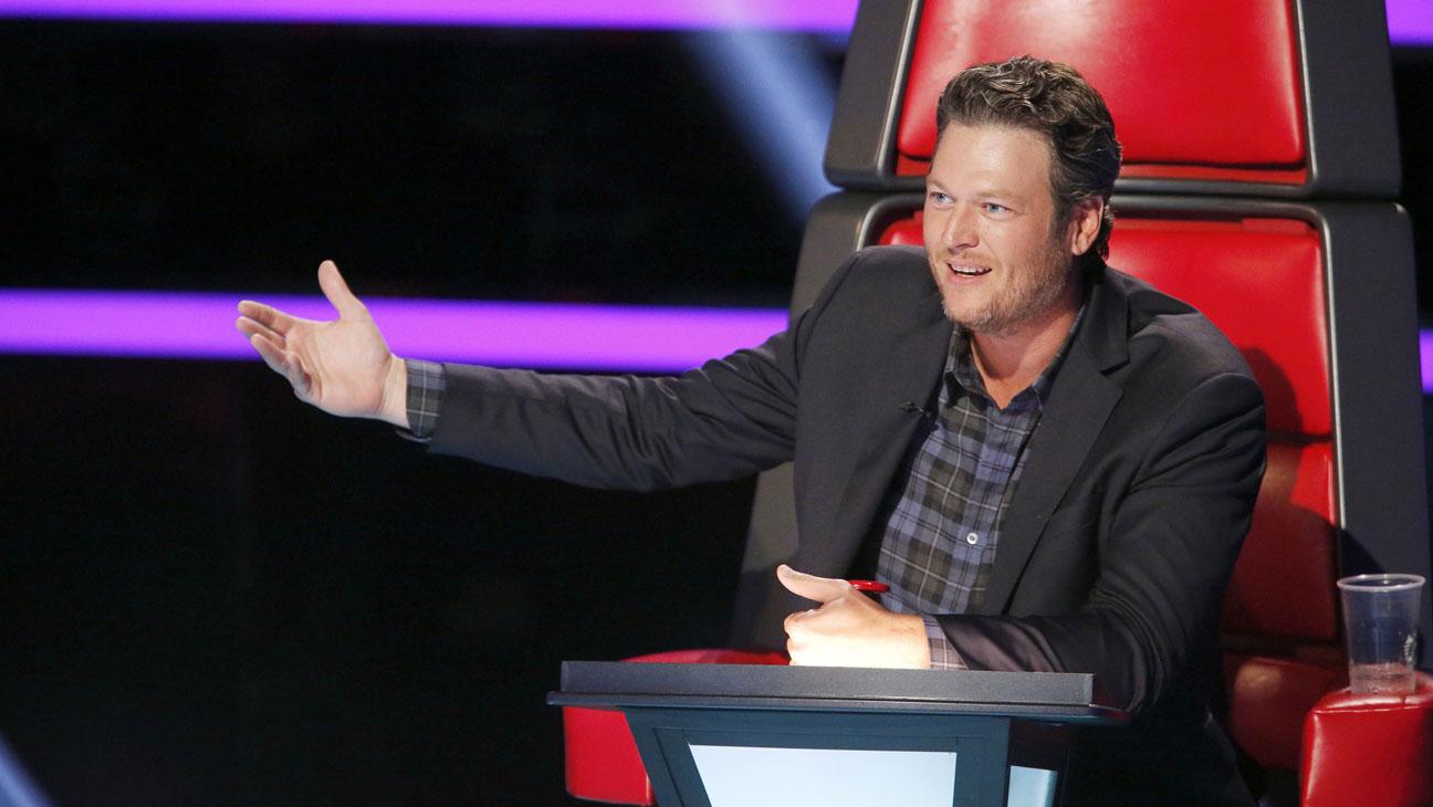 Blake Shelton no The Voice