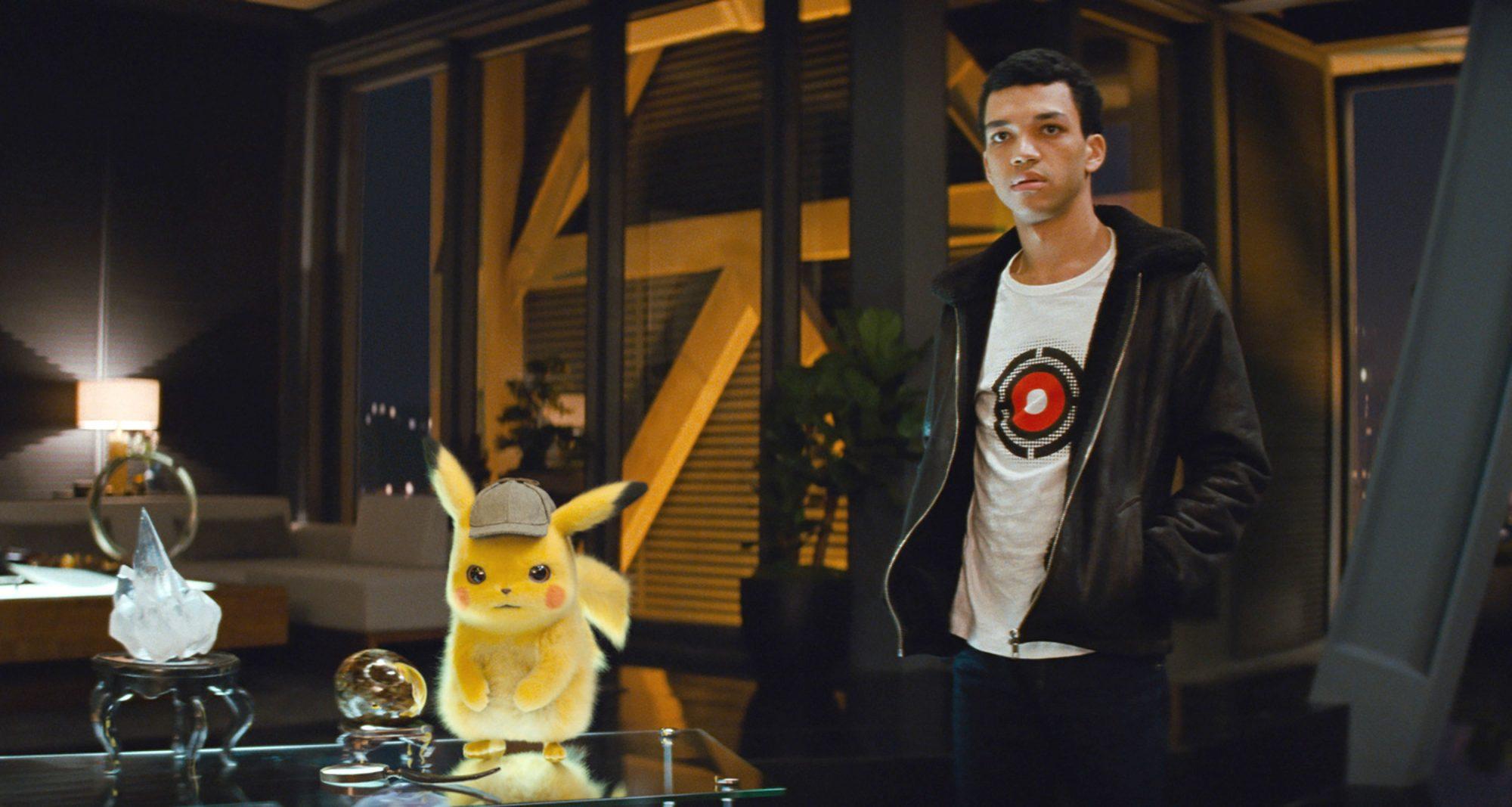Cena do filme Detetive Pikachu