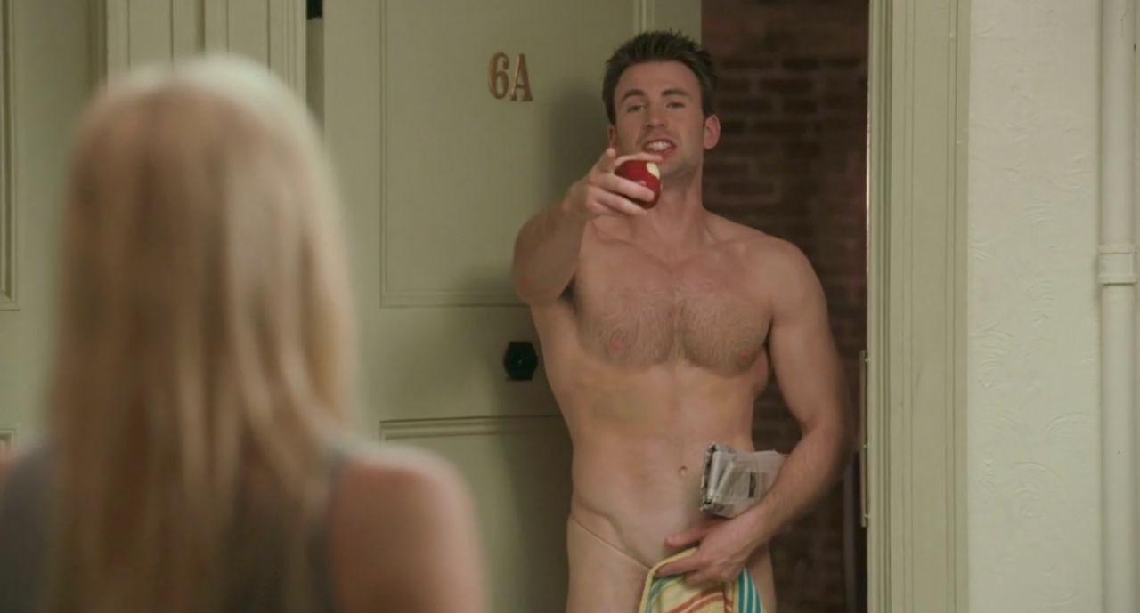Chris Evans em cena do filme Qual Seu Número?