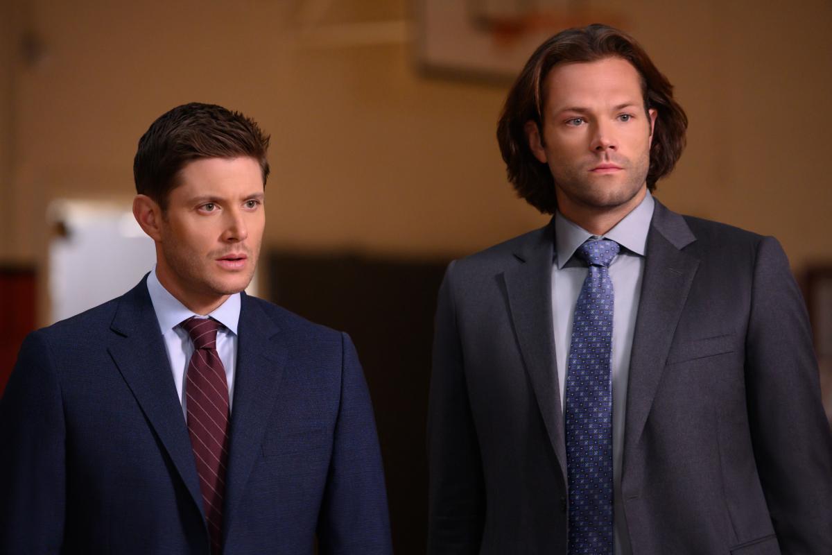 Dean (Jensen Ackles) e Sam (Jared Padalecki) em Supernatural