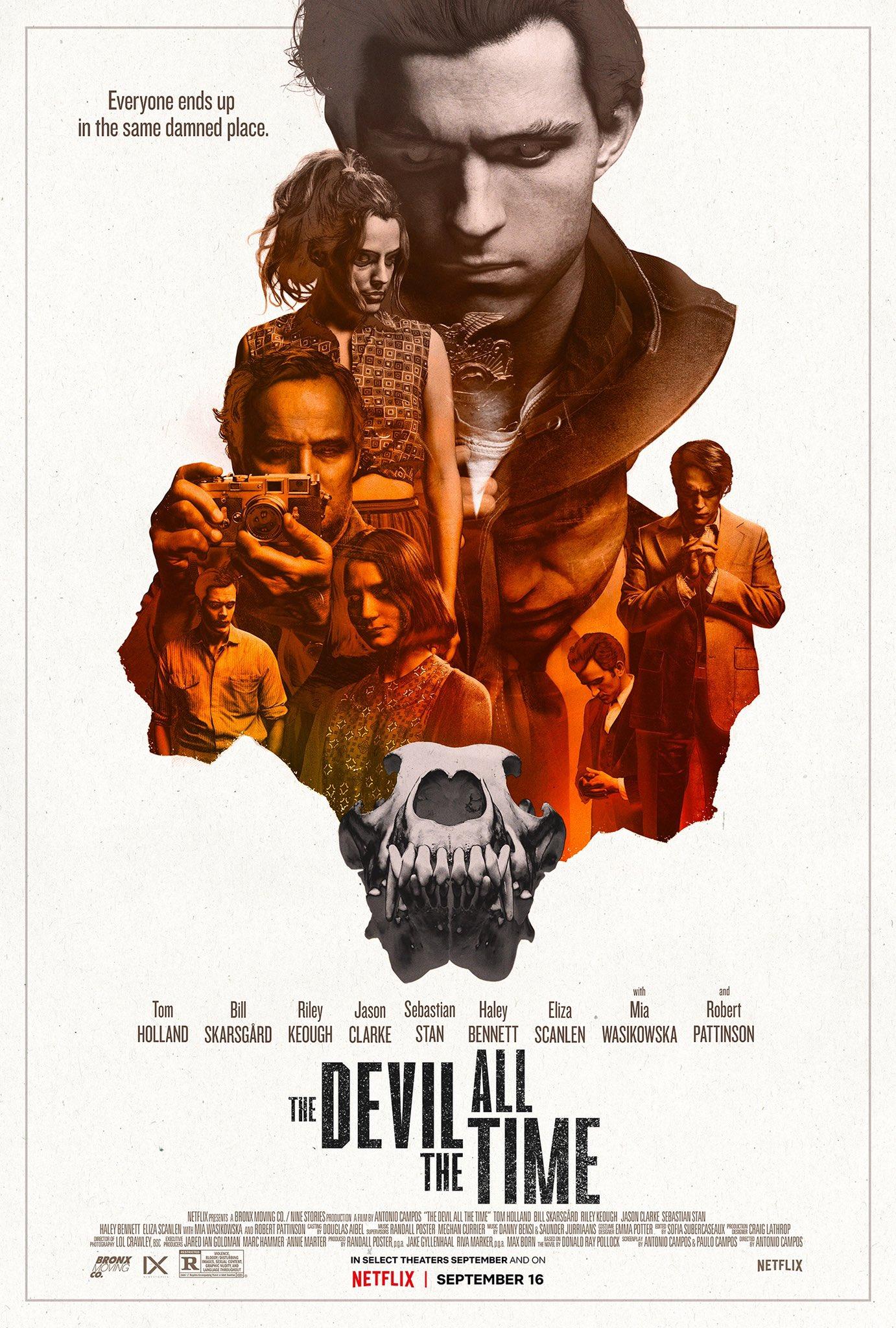 Pôster de O Diabo de Cada Dia (Divulgação / Netflix)