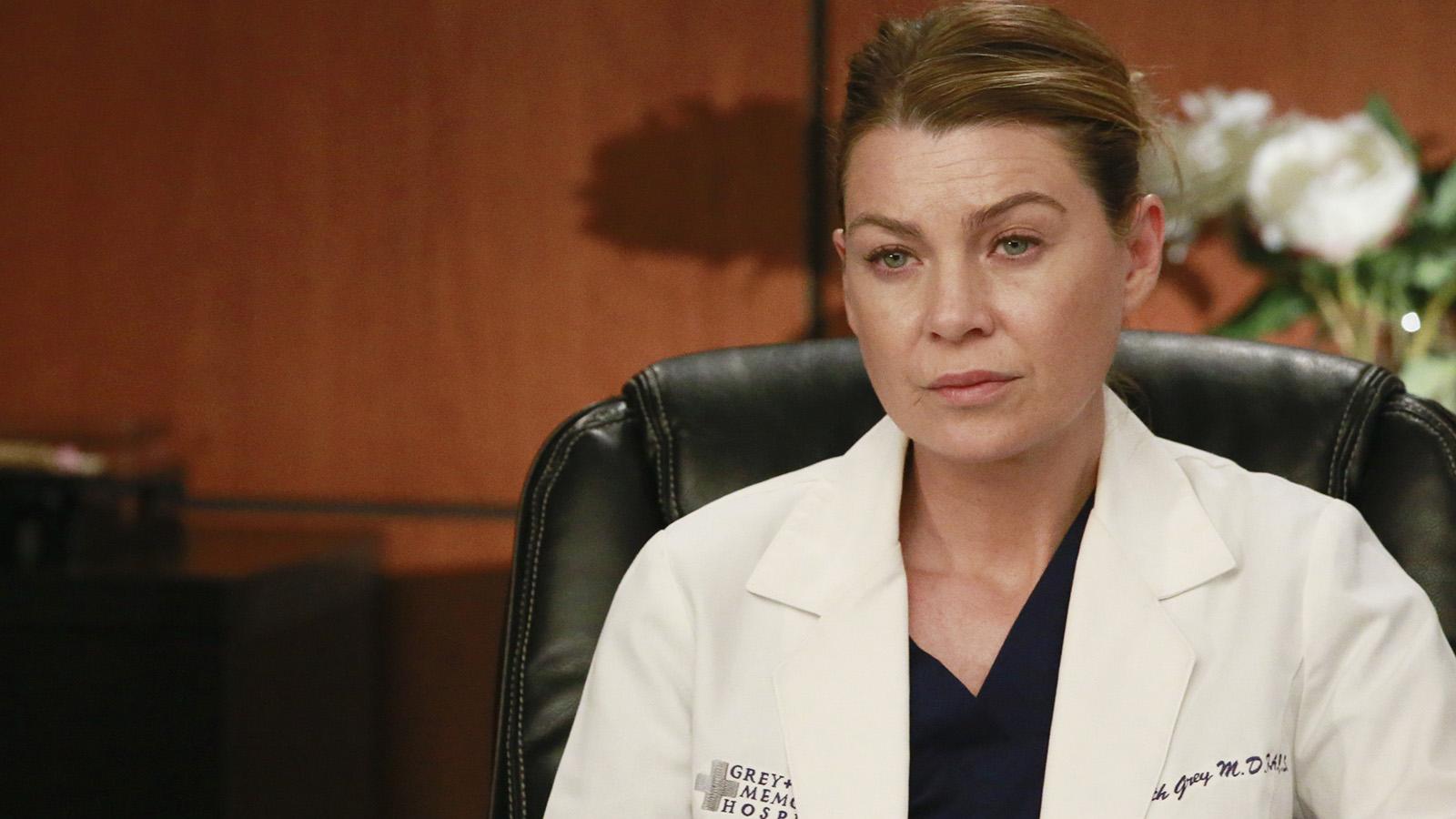 Meredith (EllenPompeo) em Grey's Anatomy