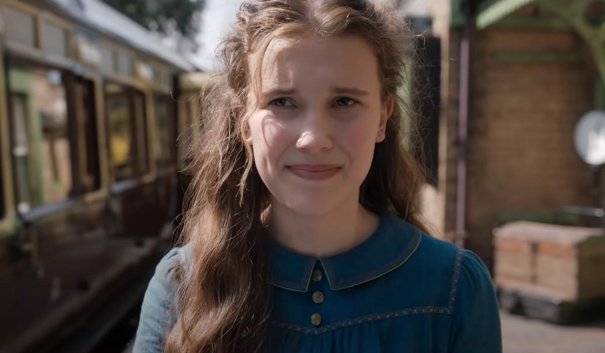 Enola Holmes (Millie Bobby Brown) em novo filme da Netflix