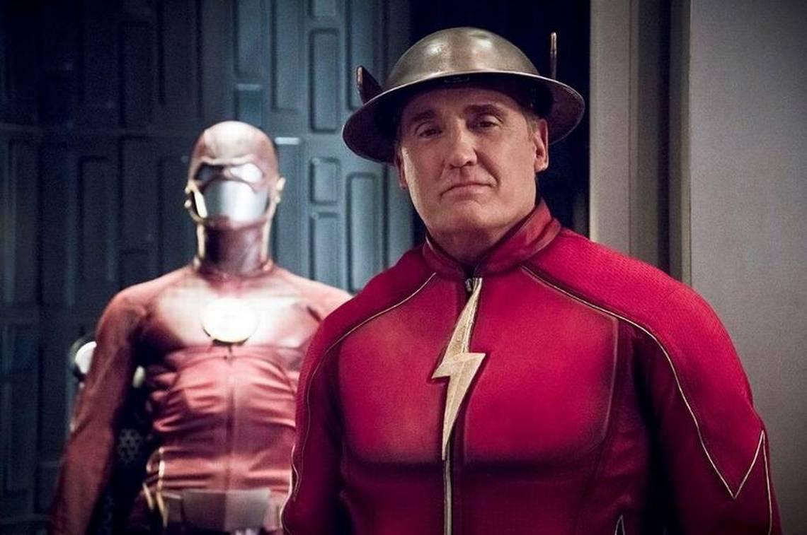 John Wesley Shipp como Jay Garrick em The Flash