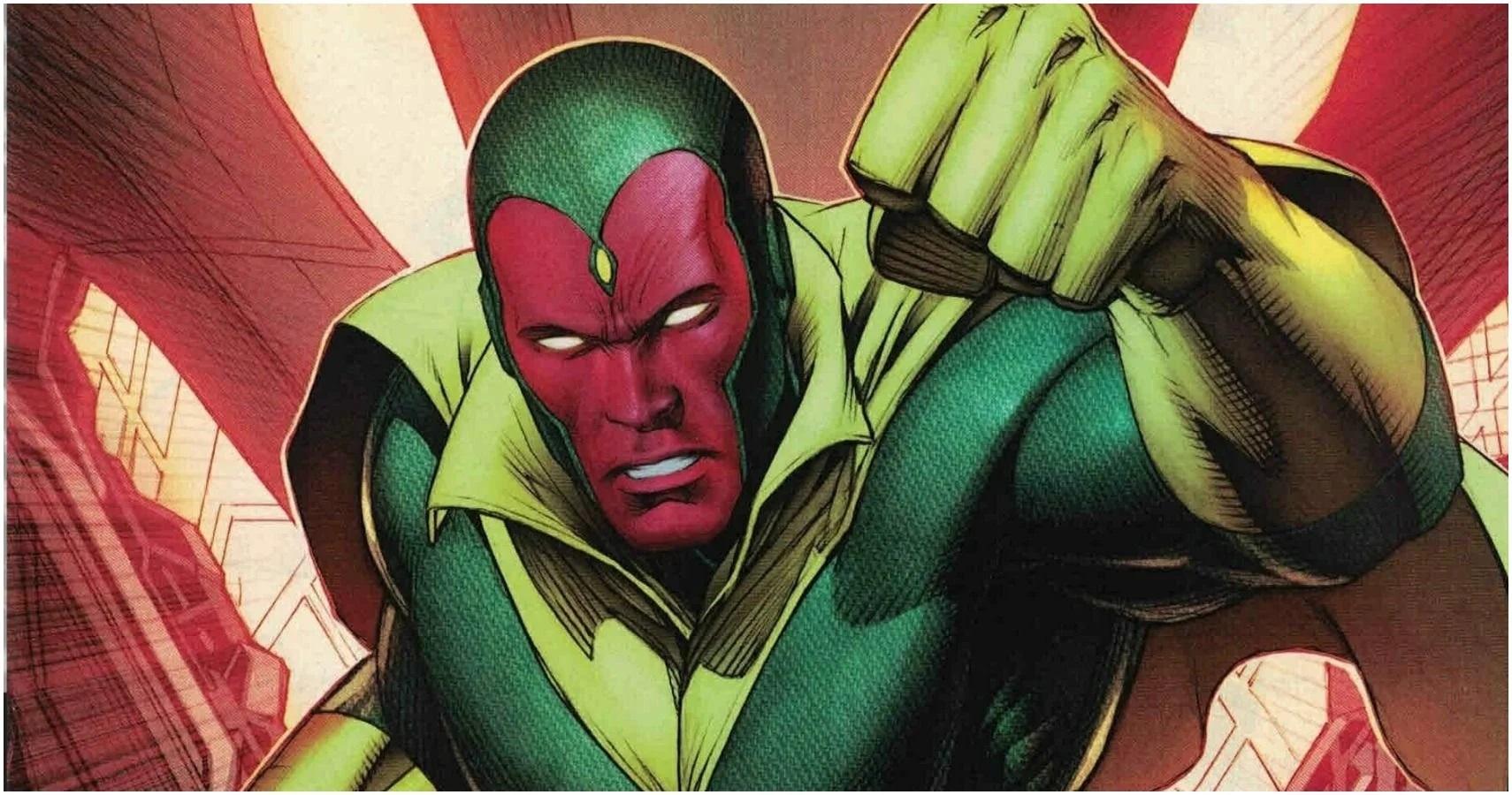 Visão (Divulgação / Marvel Comics)