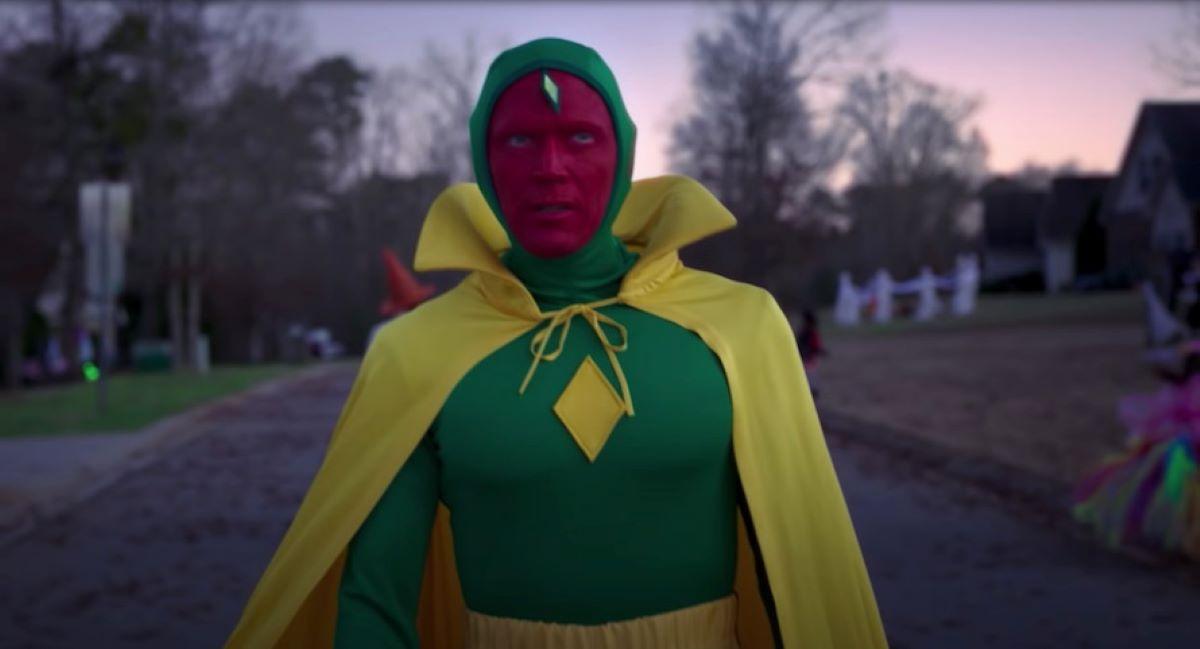 Visão (Paul Bettany) em WandaVision (Reprodução / Disney e Marvel)