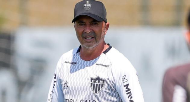 Sampaoli, técnico do Atlético-MG