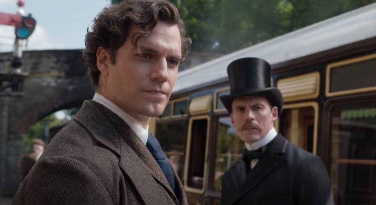 Sherlock Holmes (Henry Cavill) em Enola Holmes