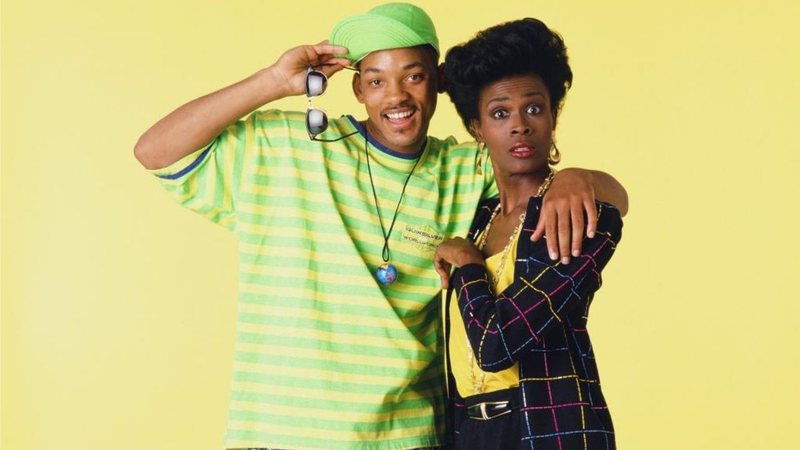 Will (Will Smith) e Tia Viv (Janet Hubert) em Um Maluco no Pedaço