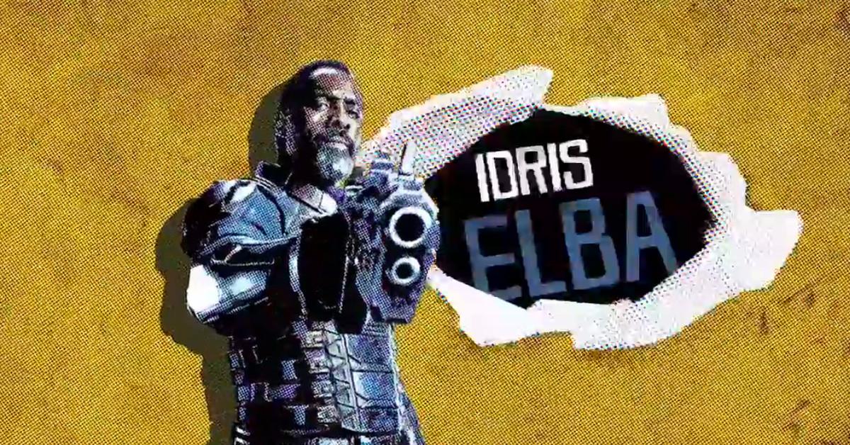 Idris Elba como Sanguinário / Bloodshot em O Esquadrão Suicida (Divulgação / DC)