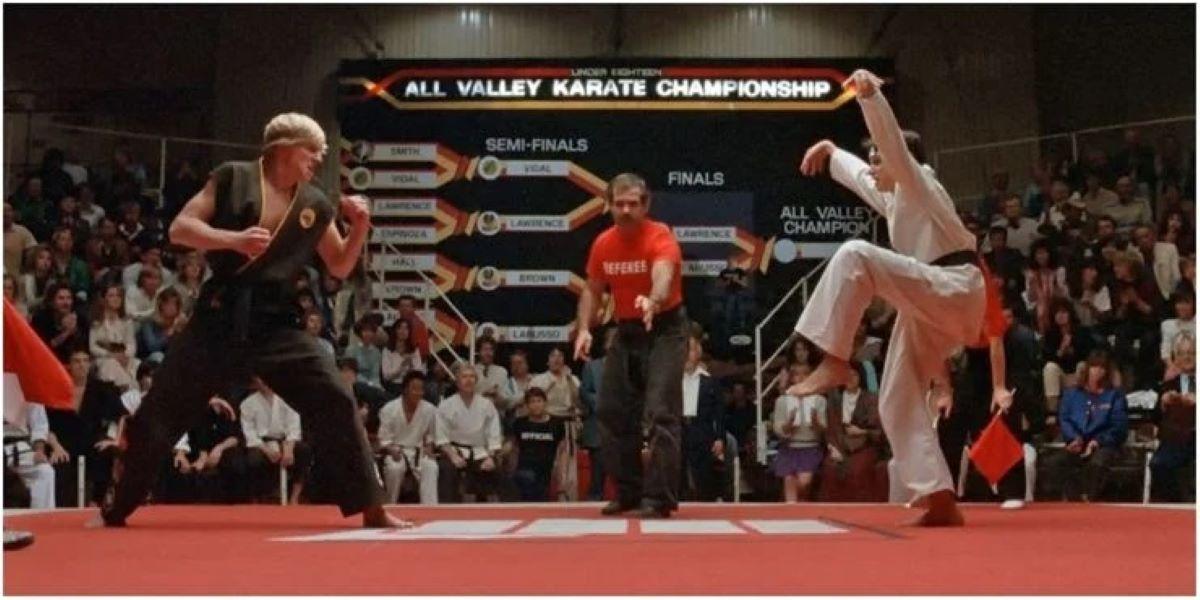 Cena de Karate Kid (Reprodução)