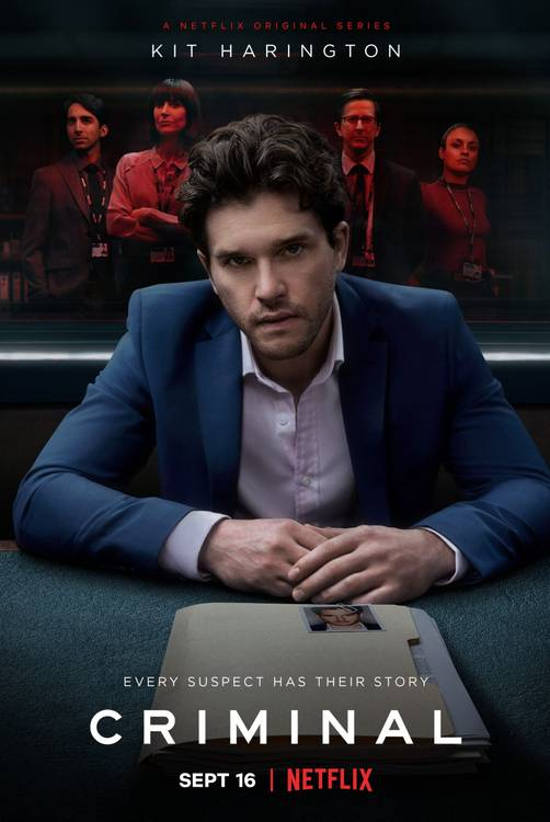 Pôster da 2a temporada de Criminal (Divulgação / Netflix)