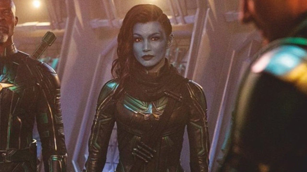 Minn-Erva (Gemma Chan) em Capitã Marvel (Reprodução / Marvel)