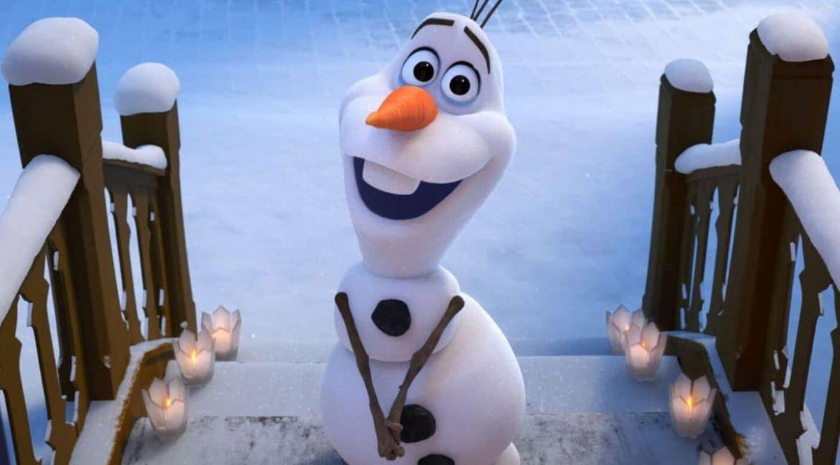 Olaf do filme Frozen (Reprodução / Disney)