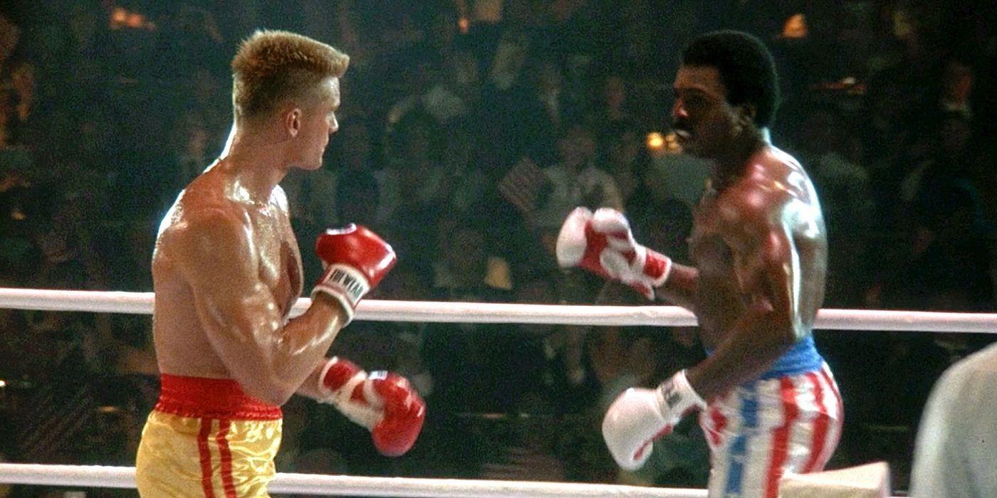 Cena de Rocky IV (Reprodução)