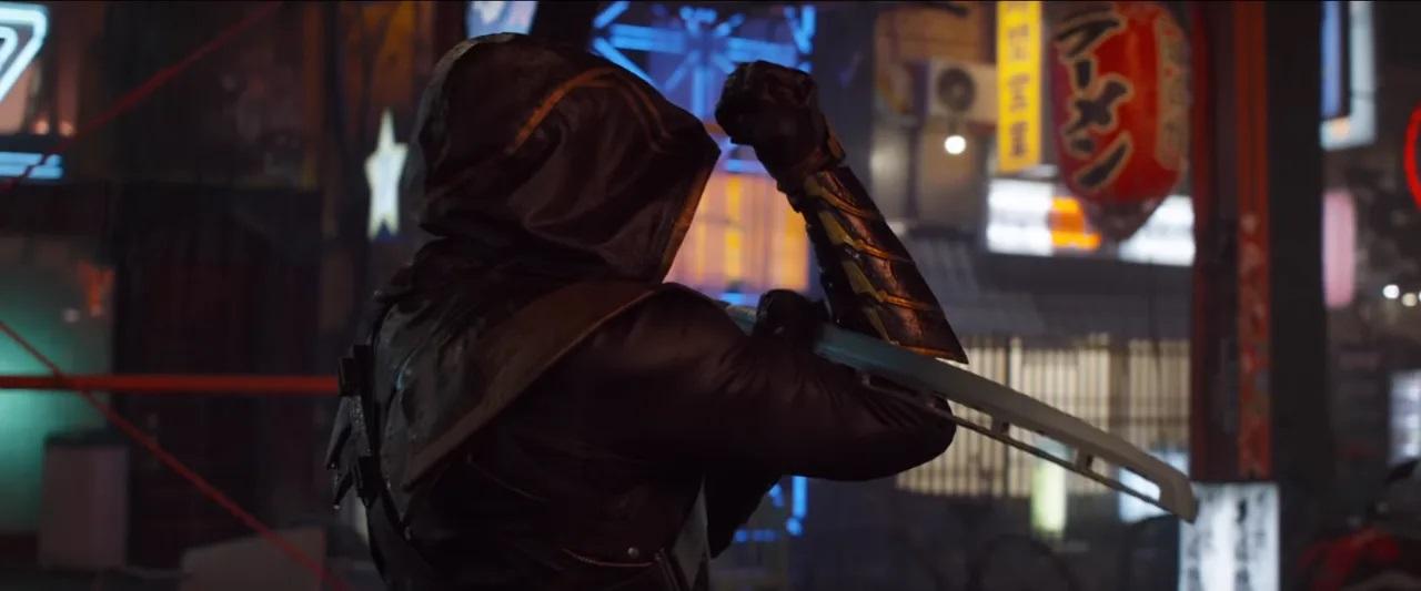 Jeremy Renner como Ronin em Vingadores: Ultimato (Reprodução / Marvel)