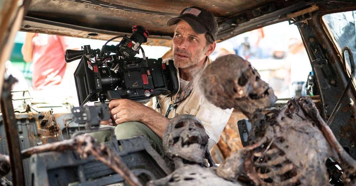 Zack Snyder nos bastidores de Army of the Dead (Divulgação / Netflix)