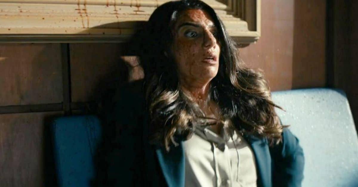 Claudia Doumit como Victoria Neuman em The Boys (Reprodução / Amazon)