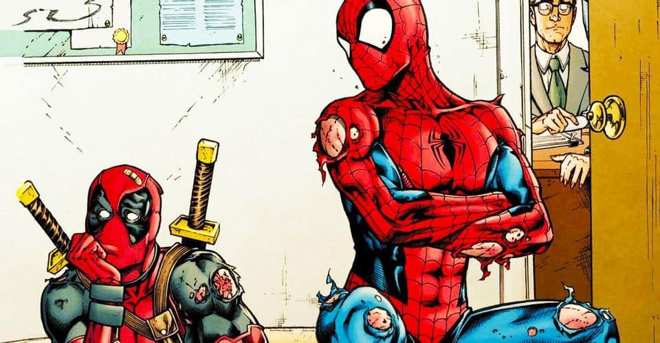 Deadpool e Homem-Aranha