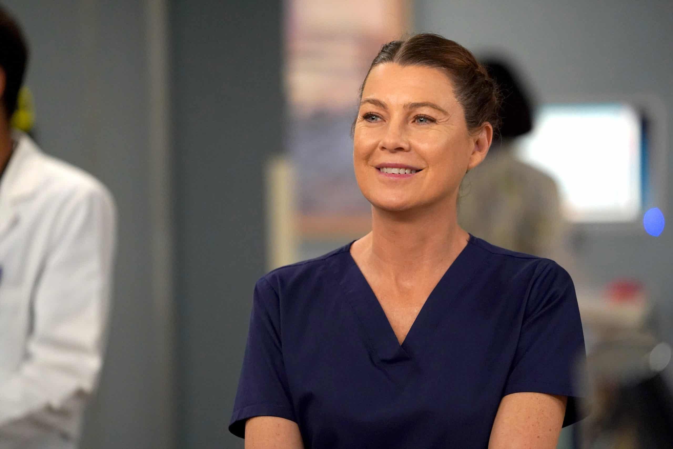 Ellen Pompeo em Grey's Anatomy
