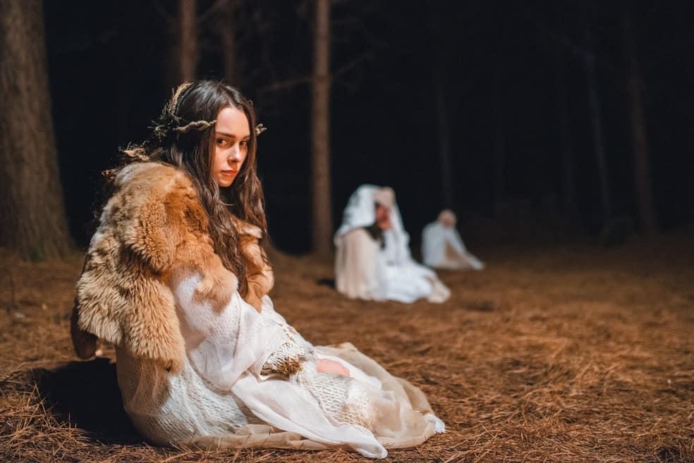 Halyna (Anna Melo) em Desalma