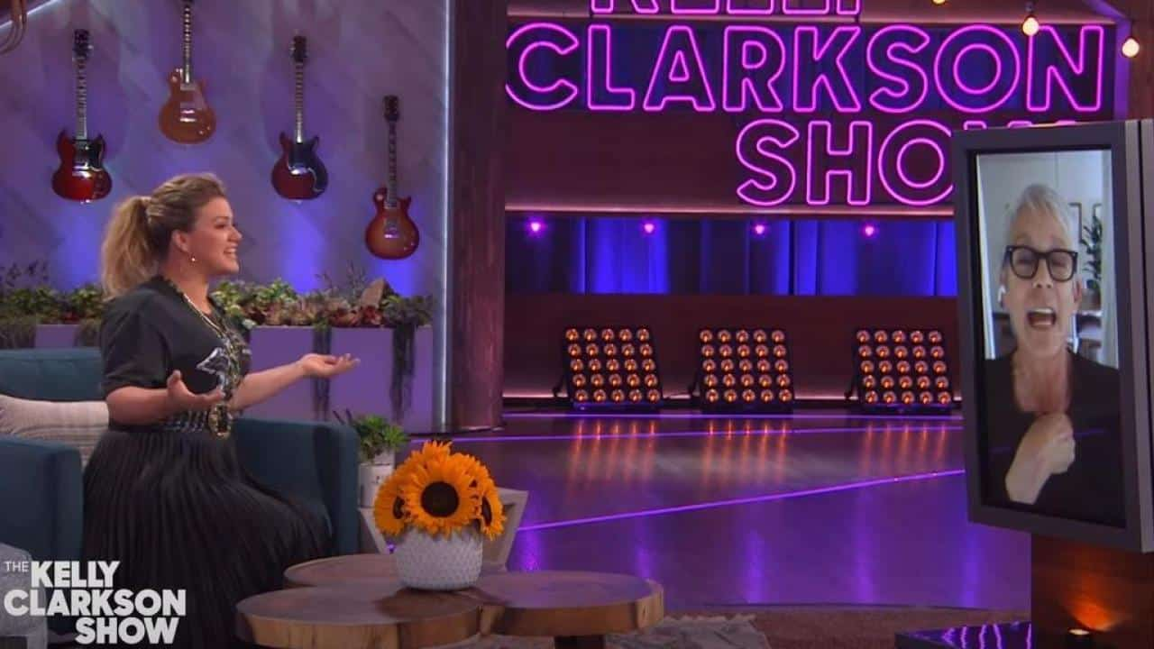 Jamie Lee Curtis no The Kelly Clarkson Show