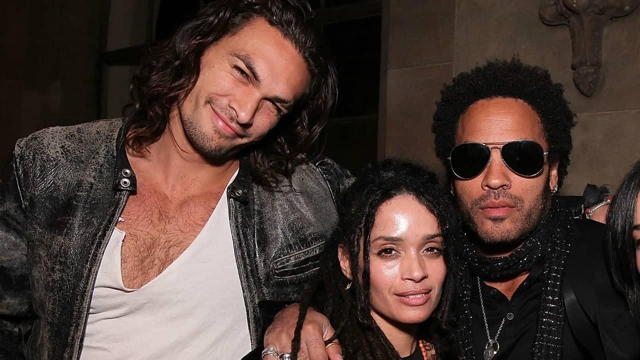 Jason Momoa, Lisa e Lenny Kravitz