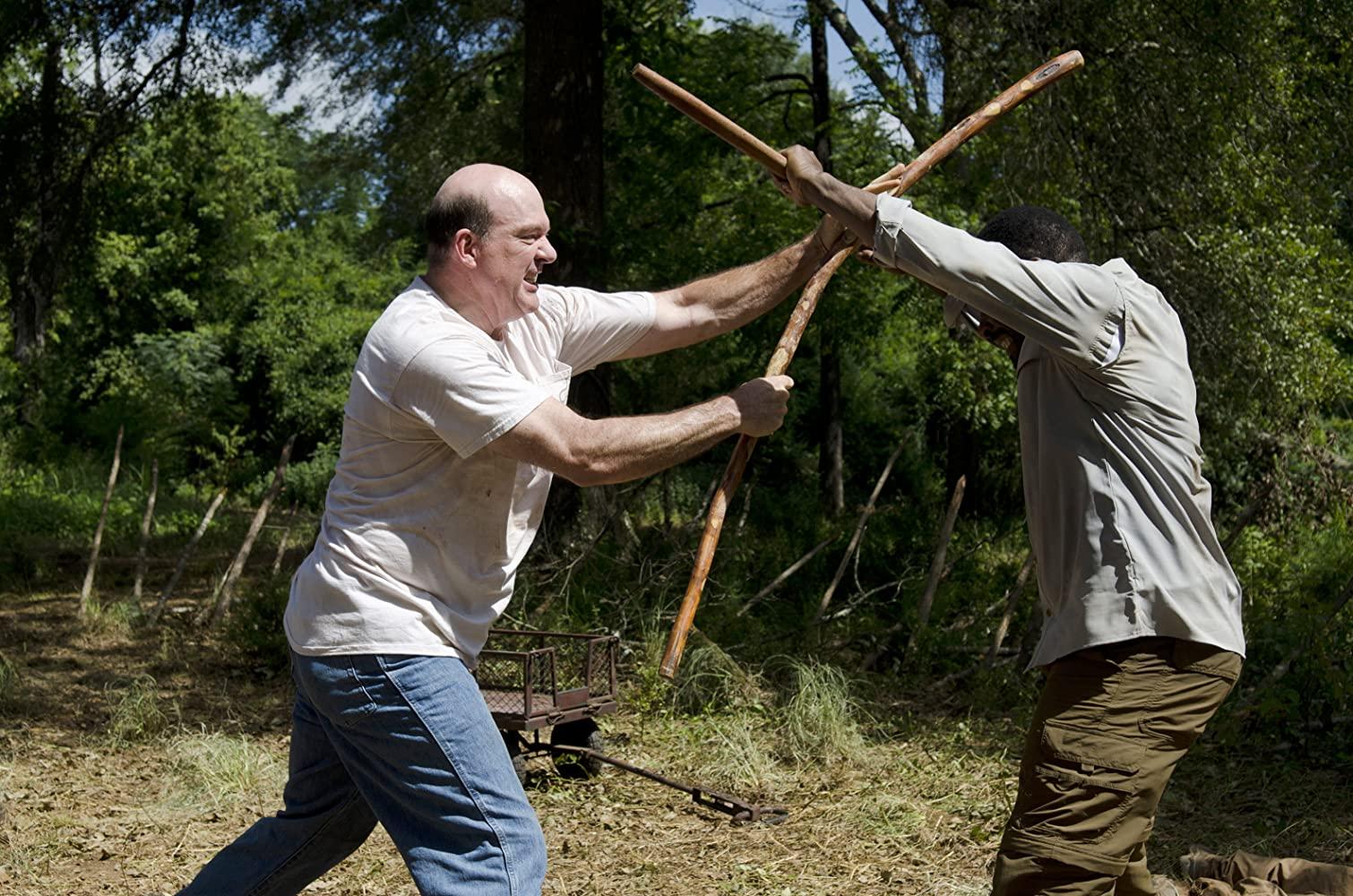 John Carroll Lynch e Lennie James em Fear The Walking Dead