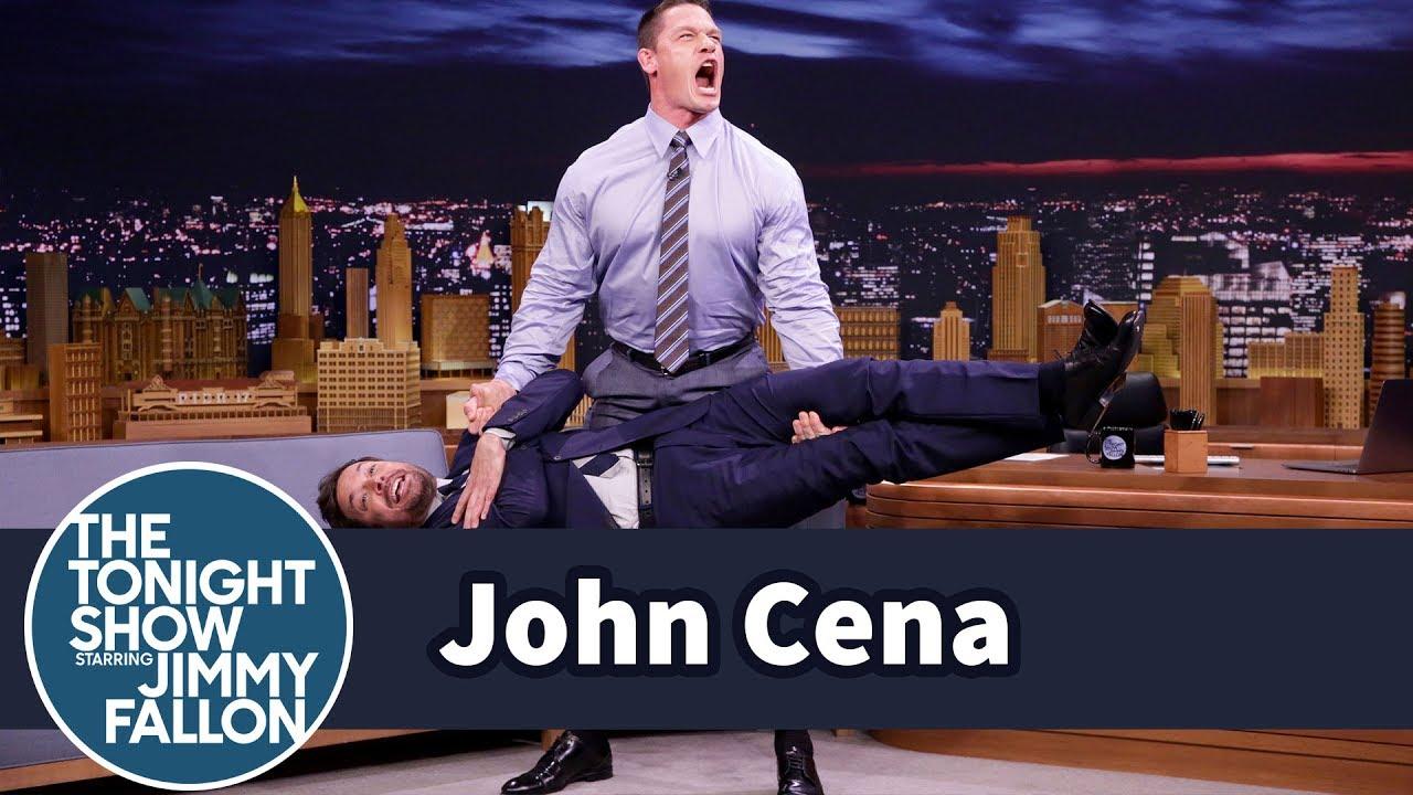 John Cena no programa de Jimmy Fallon