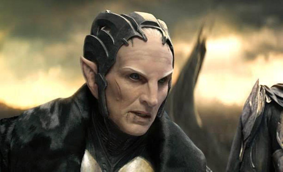 Malekith em Thor: O Mundo Sombrio (Reprodução / Marvel)