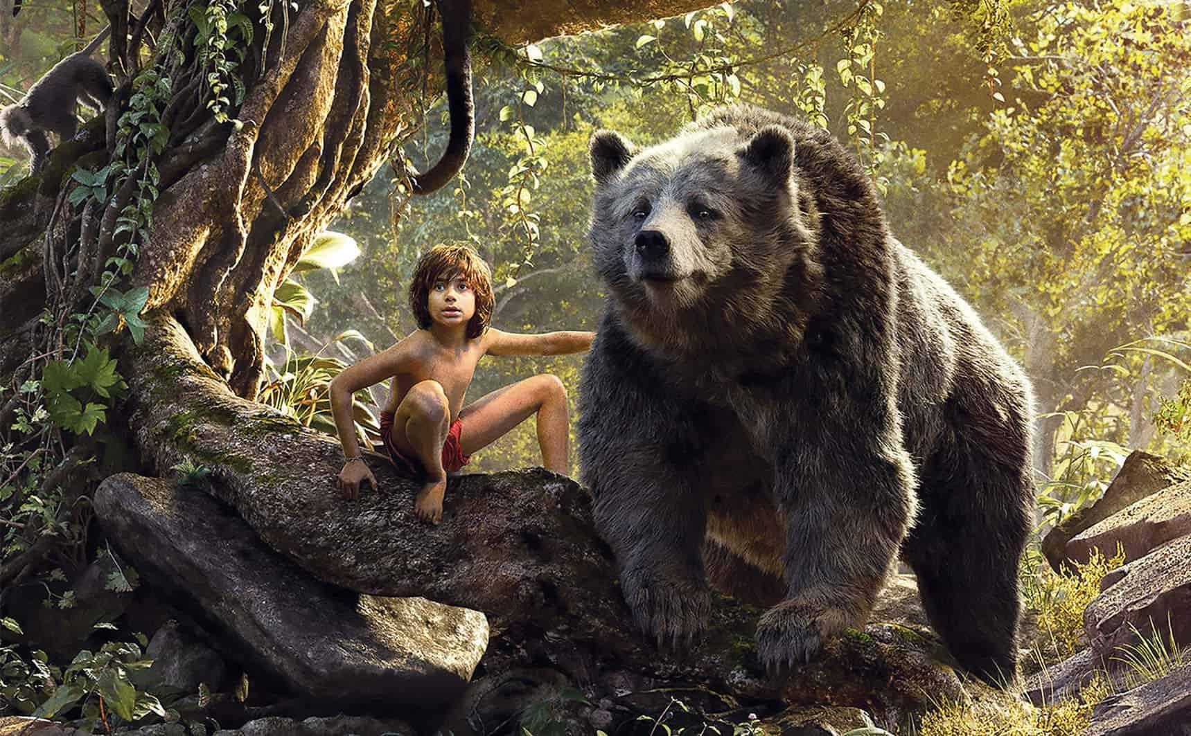 Baloo e Mogli em Mogli - O Menino Lobo