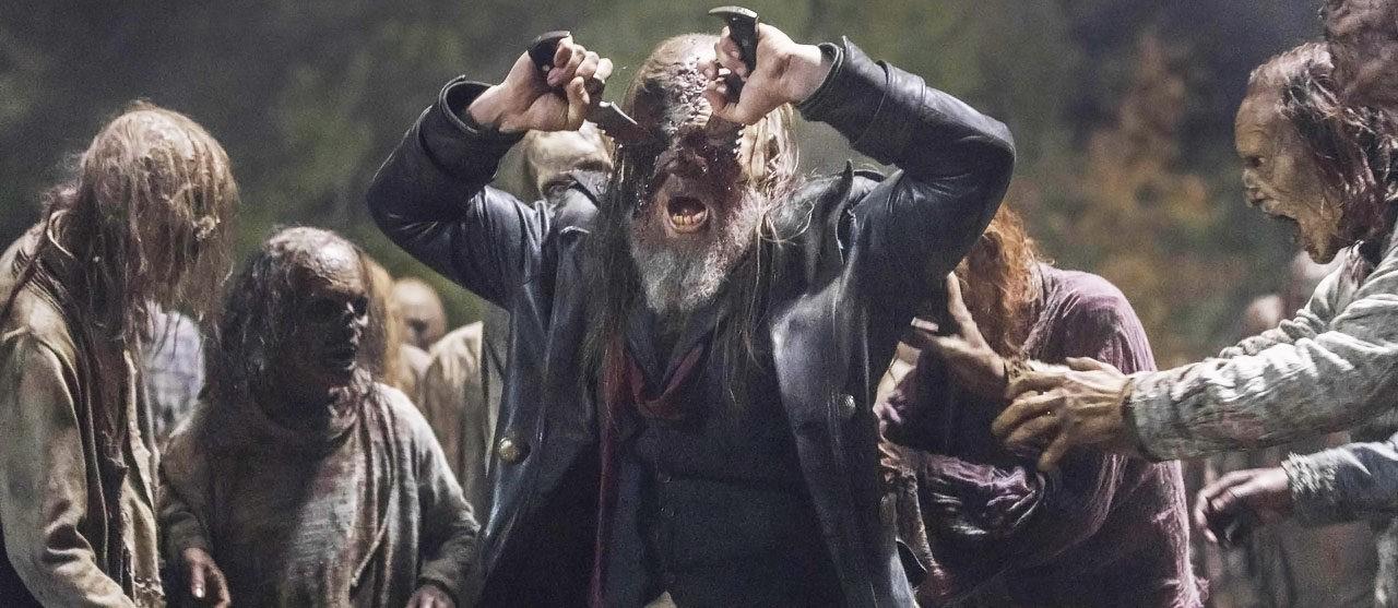 Morte de Beta (Ryan Hurst) em The Walking Dead