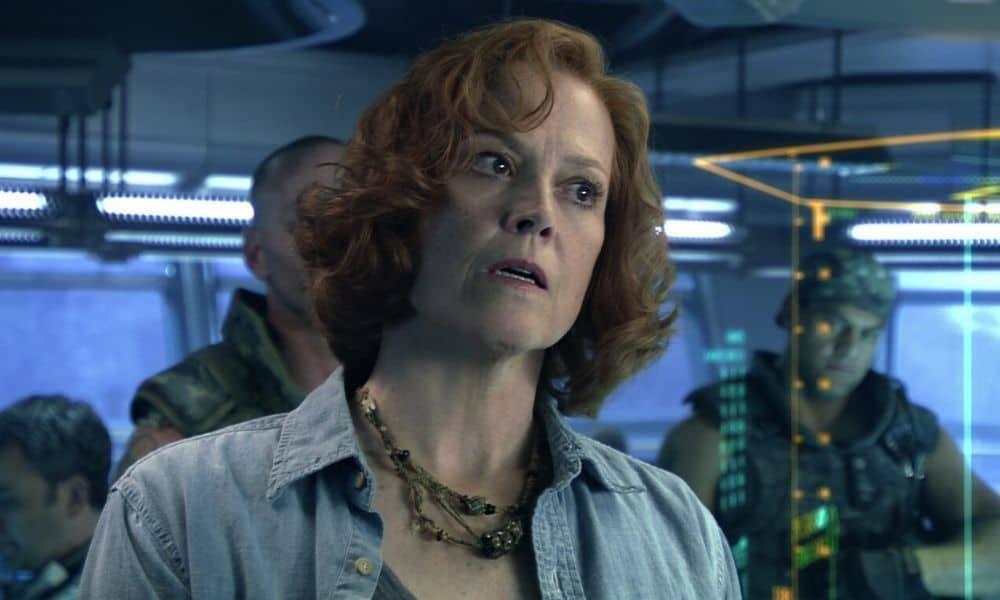 Sigourney Weaver em Avatar 2