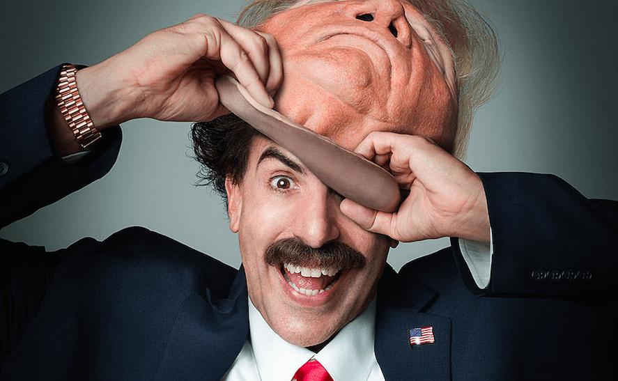 Ator de Borat 2 revela como se disfarçou de Trump para invadir comício em  novo filme