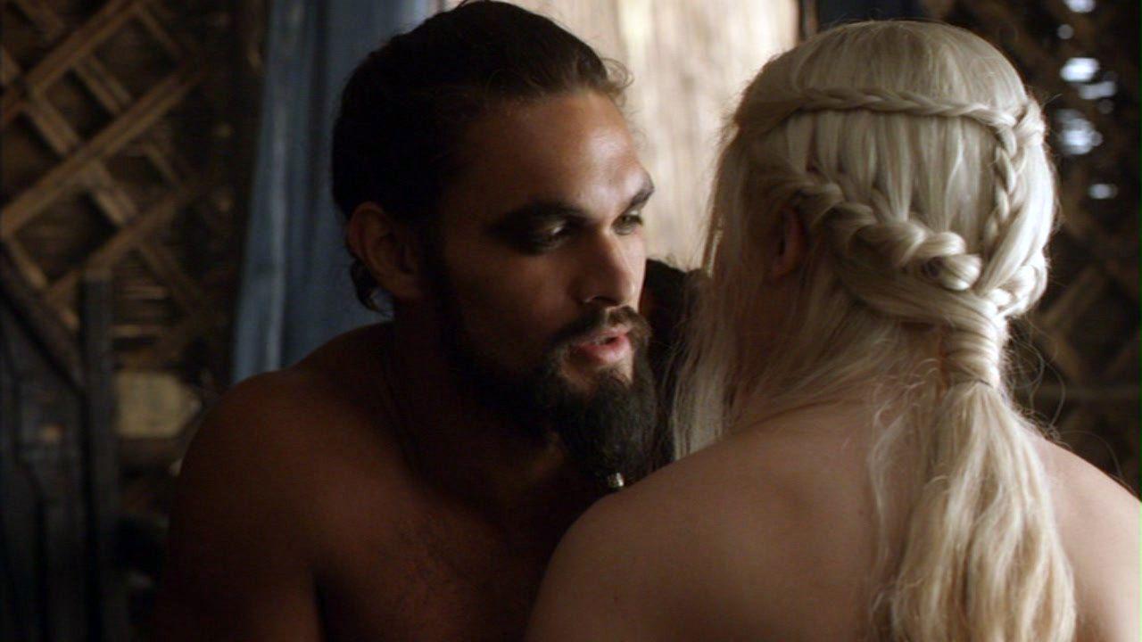 Daenerys e Drogo em Game of Thrones (Reprodução / HBO)
