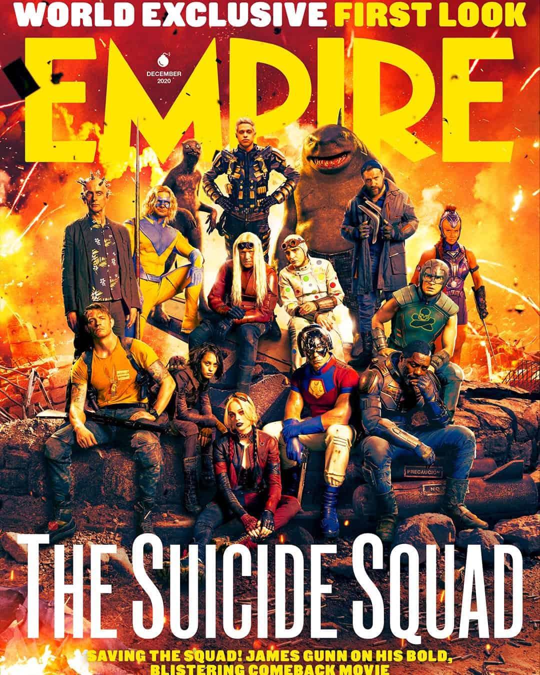 James Gunn e O Esquadrão Suicida na capa da Empire
