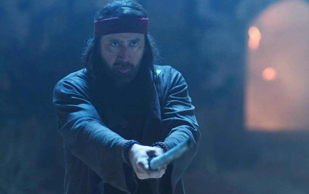 Nicolas Cage no filme Jiu Jitsu (Reprodução)
