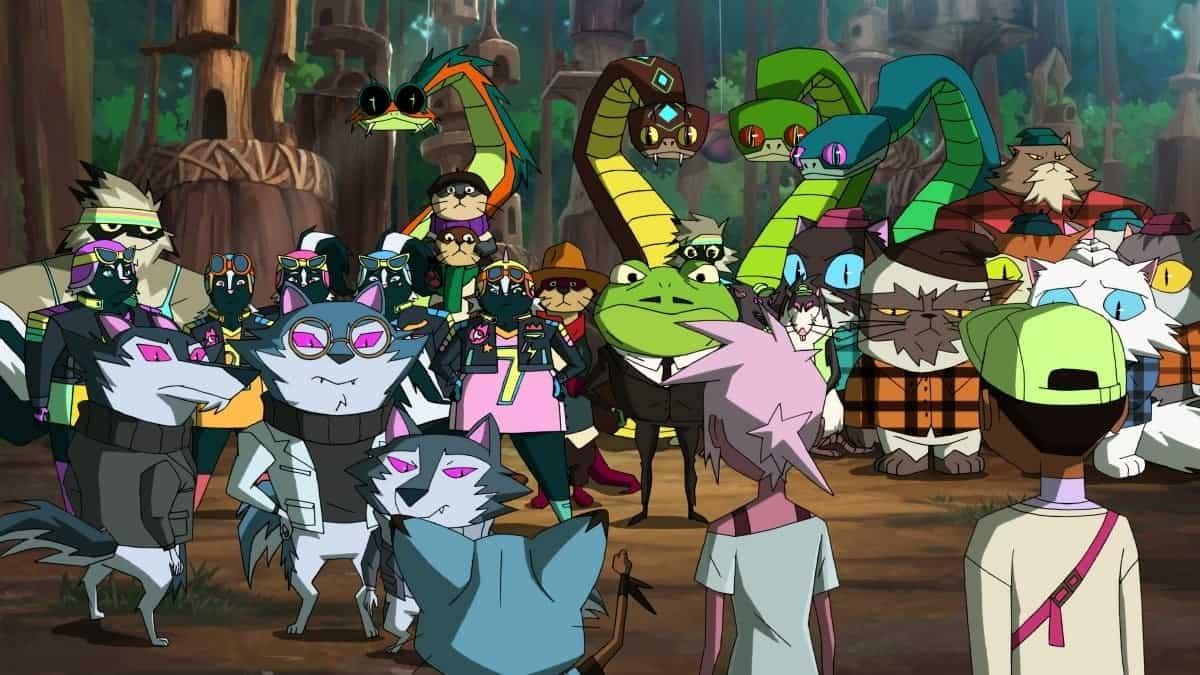 Cena de Kipo e os Animonstros (Reprodução / DreamWorks)