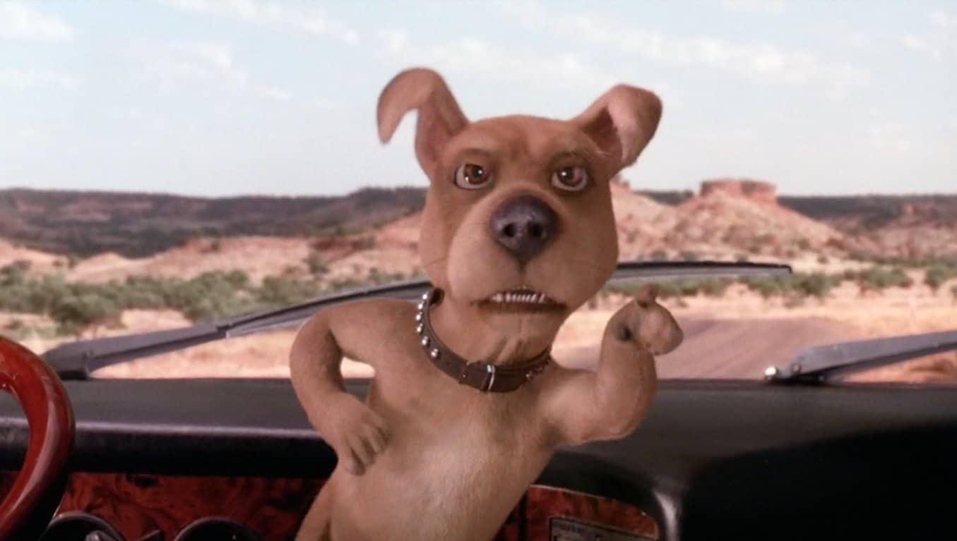 Cena do filme Scooby-Doo (Reprodução)