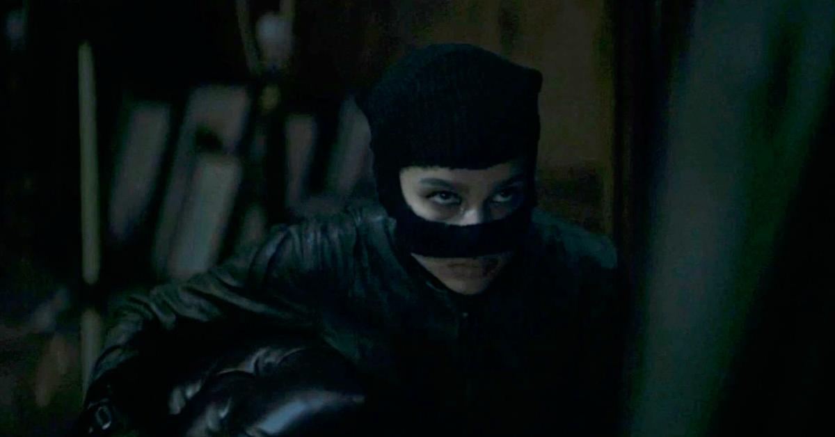 Zoë Kravitz como Mulher-Gato no trailer de The Batman (Reprodução / DC)
