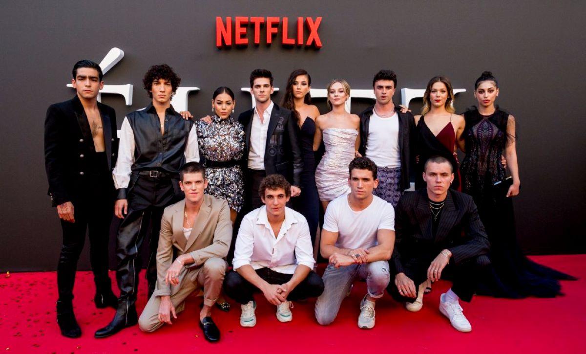 Elenco de Elite (Divulgação / Netflix)