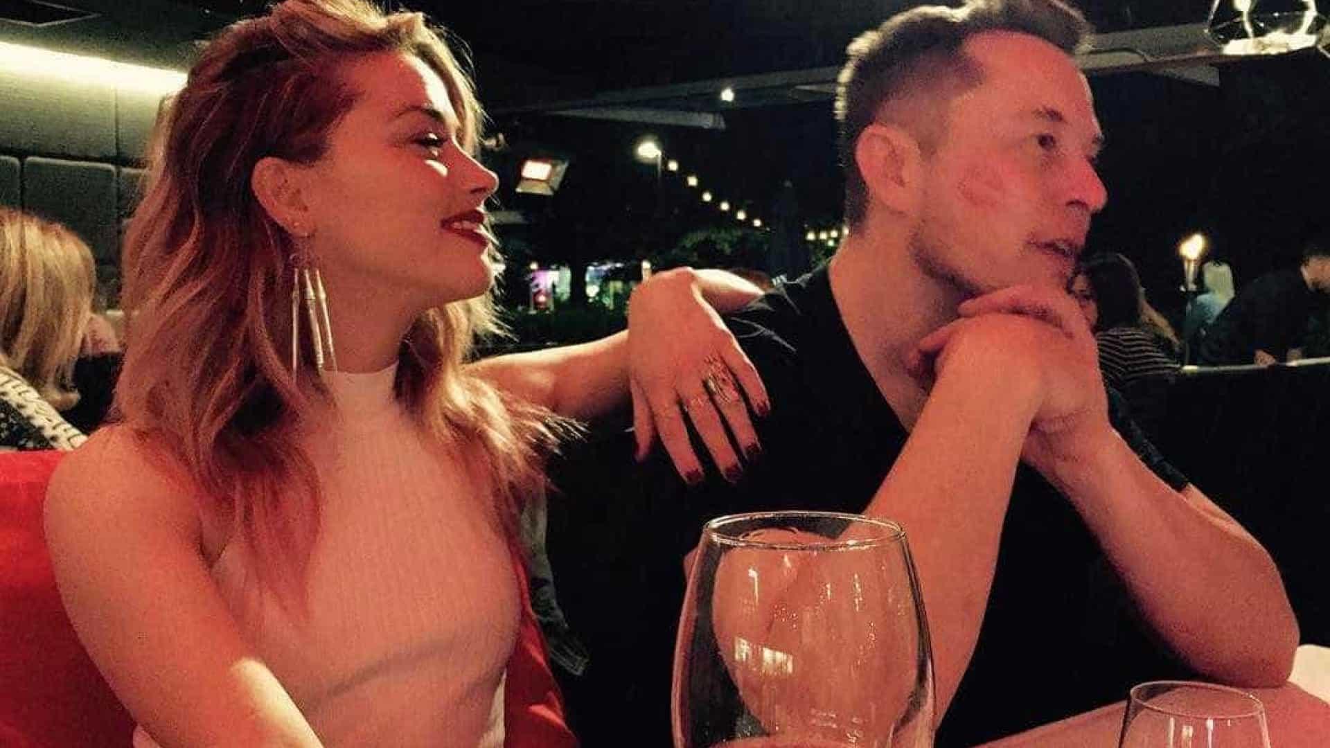Amber Heard e Elon Musk