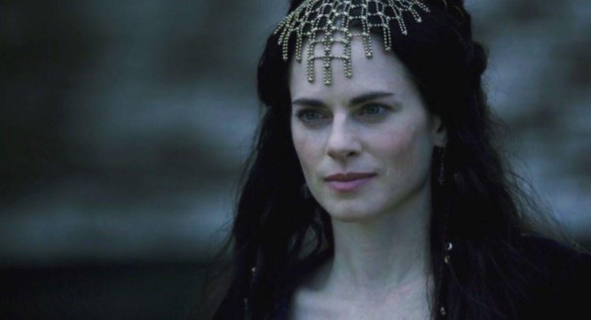 Amy Bailey, como Kwenthrith em Vikings (Reprodução / History)