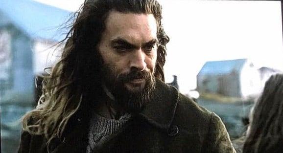 Aquaman em foto de Liga da Justiça de Zack Snyder (Reprodução)
