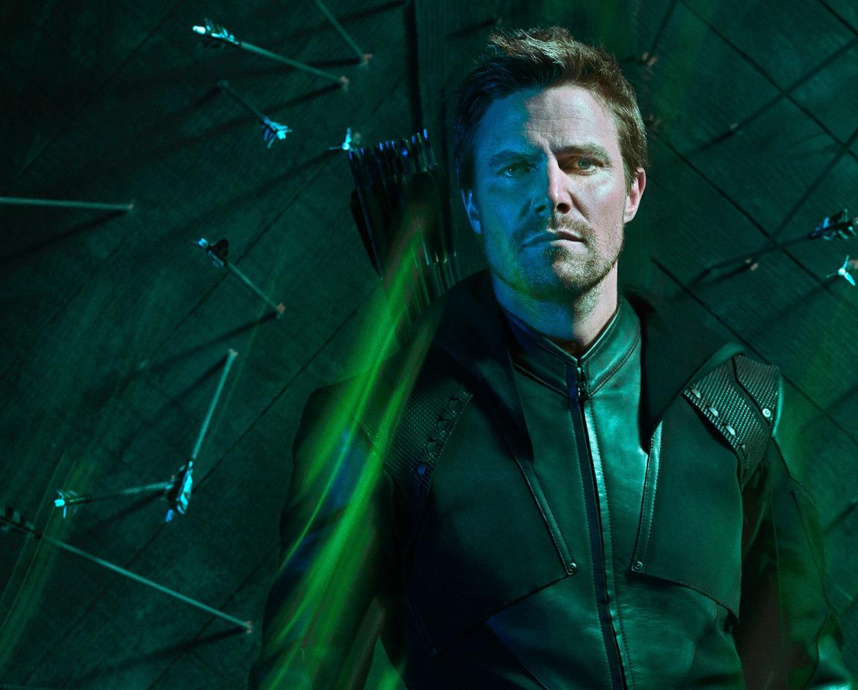 Stephen Amell vive o personagem principal de Arrow (Foto: Divulgação)