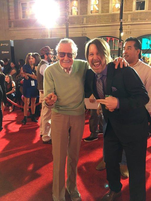 Cagill e Stan Lee