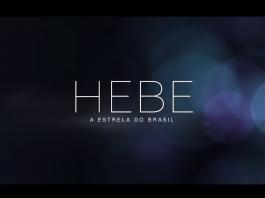 Logo do filme Hebe - A Estrela do Brasil