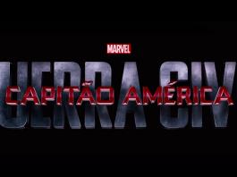 Logo de Capitão América: Guerra Civil, em trailer do filme